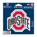 Ohio State University 3.5 inch Die Cut Logo Magnet